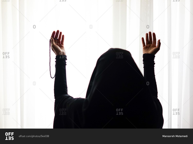 1500x1120 Muslim Woman Standing