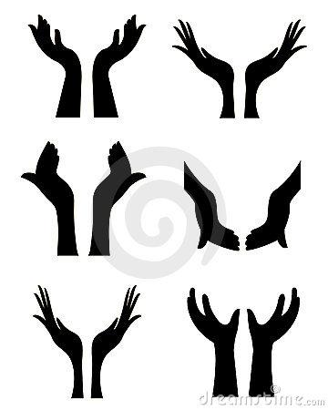 360x450 Prayer Hands Open Clip Art