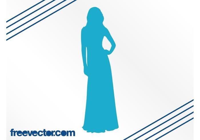 700x490 Elegant Woman Silhouette