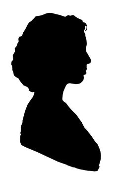 236x354 Free Face Silhouettes Printable ~ These Would Be Great To Use