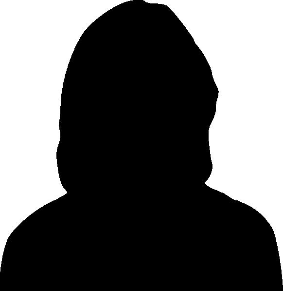 582x597 Female Silhouette Clip Art