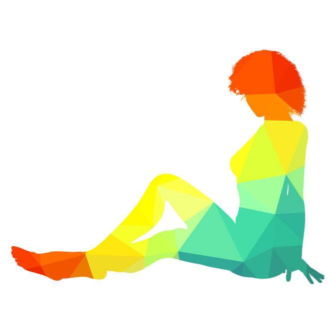660x660 Woman Sitting On The Floor