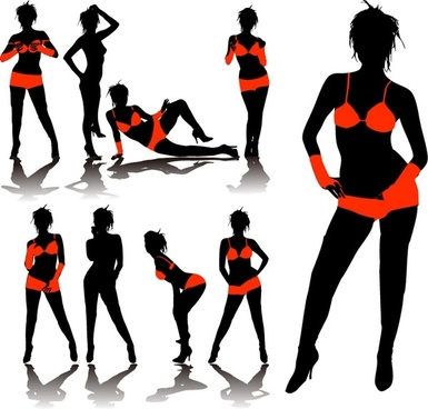 385x368 Female Silhouette Free Vector Download (6,753 Free Vector)