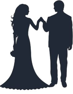 236x303 Bride And Groom Silhouette.png Silhouette