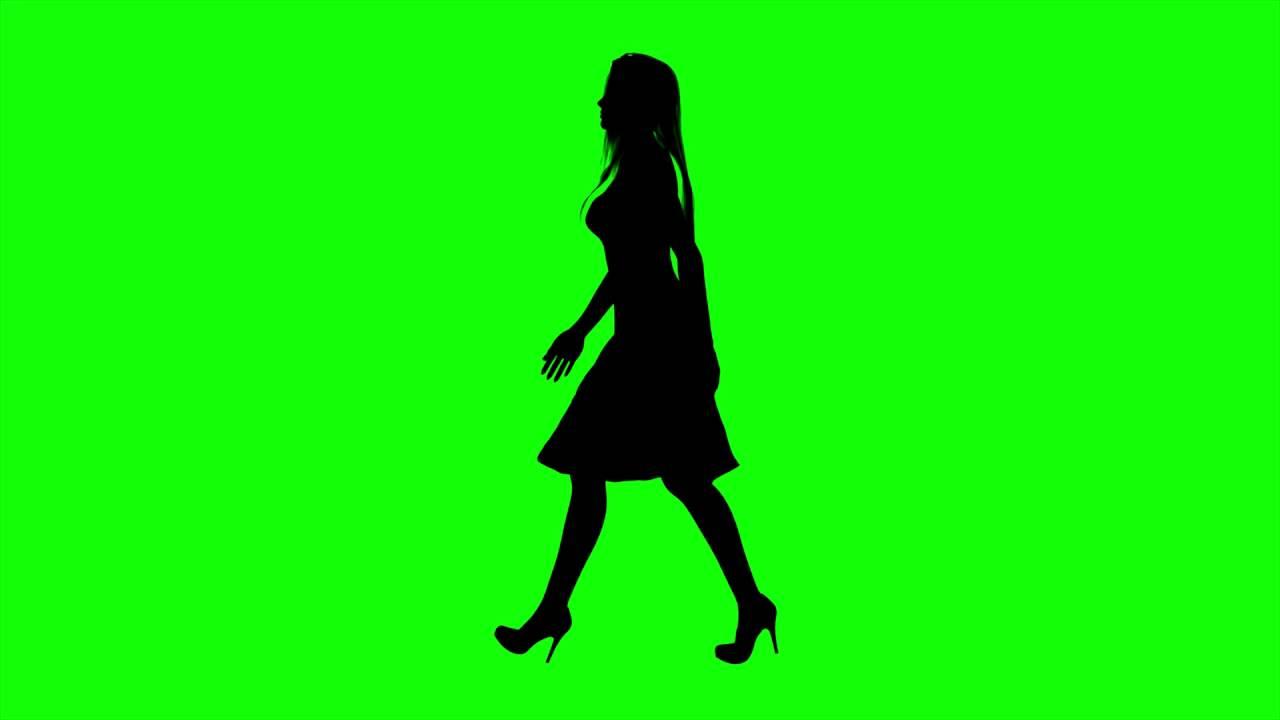 1280x720 Free Hd Video Backgrounds Woman On High Heels Silhouette Walking