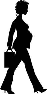 152x300 Free Pregnant Woman Clipart Image 0515 1101 2617 4206 People Clipart