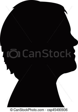 329x470 Photos Woman Head Silhouette Clip Art,