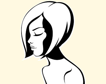 340x270 Woman Silhouette Etsy