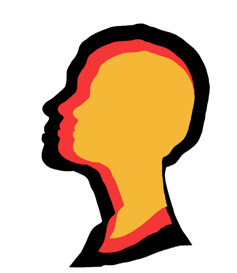 771x886 Face Silhouettes Of Men, Women And Children