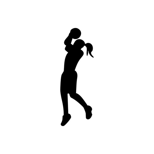 Women Basketball Silhouette