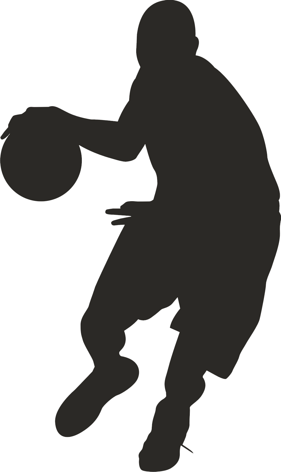 955x1600 Basketball Player Clipart Png