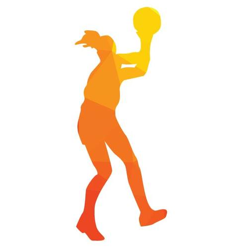 500x500 Basketball Player Silhouette Vector Public Domain Vectors