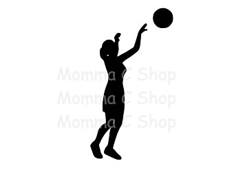 340x270 Girls Basketball Svg Etsy
