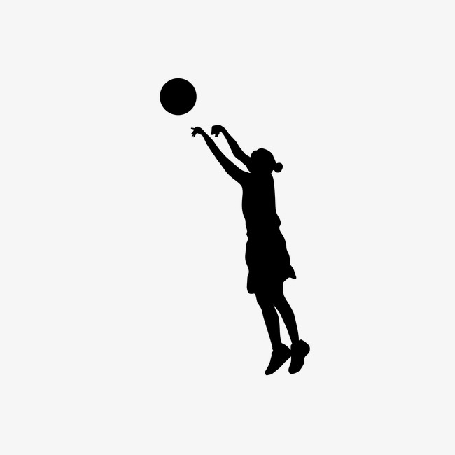 650x650 Women's Basketball Silhouette,vector, Sports, Sketch, Silhouette