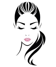 236x278 66627297 Illustration Of Women Short Hair Style Icon Logo Women