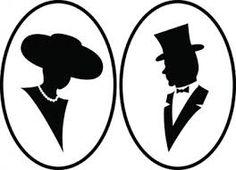 236x170 Woman Silhouette Vector Logo Design Template. Cosmetics, Beauty
