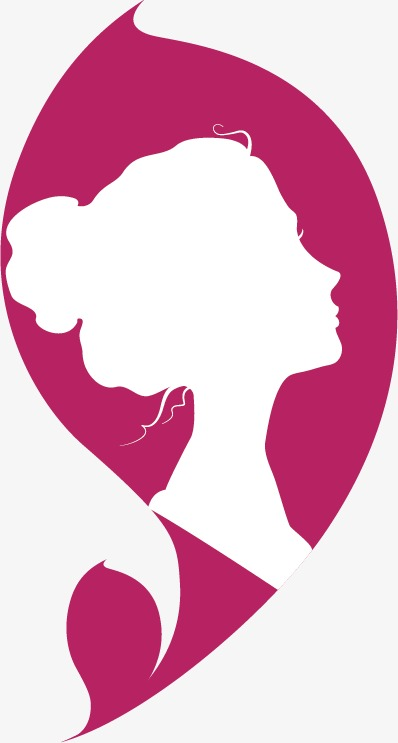 398x743 Female Silhouette Logo, Flag Icon, Creative Design, Logo Design