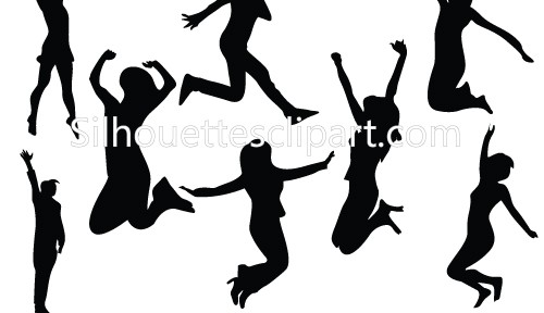 500x288 Women Fashion Silhouette Clipart