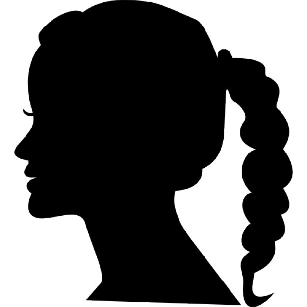 626x626 Female Head Icons Free Download