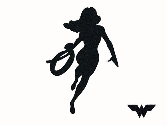 570x428 Wonder Woman Velvet Fabric Decal