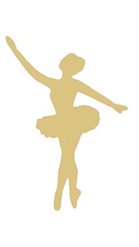 281x500 6 Ballerina Style 1 Dance Unfinished Wood Shape