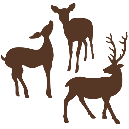 432x432 Deer Svg Cut File For Scrapbooking Free Svgs Free Svg Cuts Cute