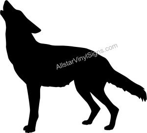 300x272 Wolf Silhouette Wolf Silhouette Silhouettes