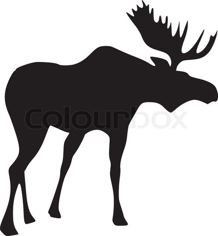 443x480 50 Best Woodland Images On Deer, Silhouettes