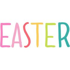 236x236 Happy Easter Word Art Silhouette Design, Silhouettes And Easter