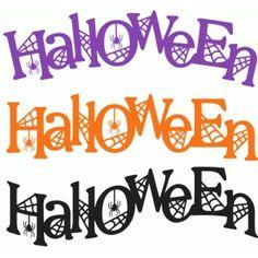 236x236 Halloween Set 2 Word Art, 50% Off Spooky Png Clip Art