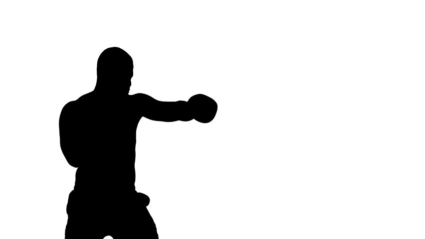 852x480 One Caucasian Man Exercising Boxing Boxer Workout Fitness