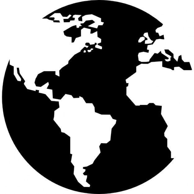 626x626 Earth Globe With Continents Maps Icons Free Download