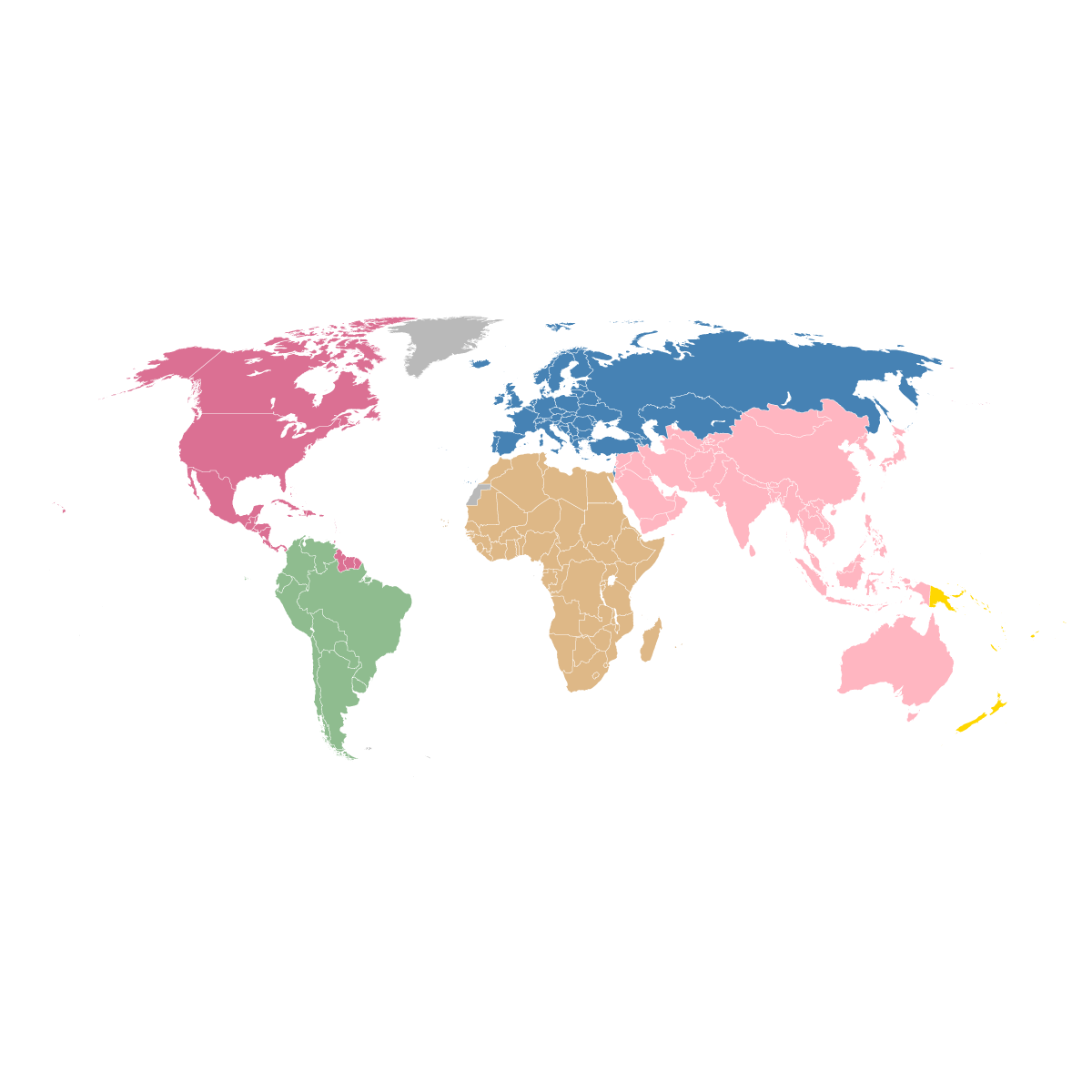 World map silhouette vector at getdrawings free for personal 1200x1200 fifa world map vector graphic of confederation members free gumiabroncs Image collections