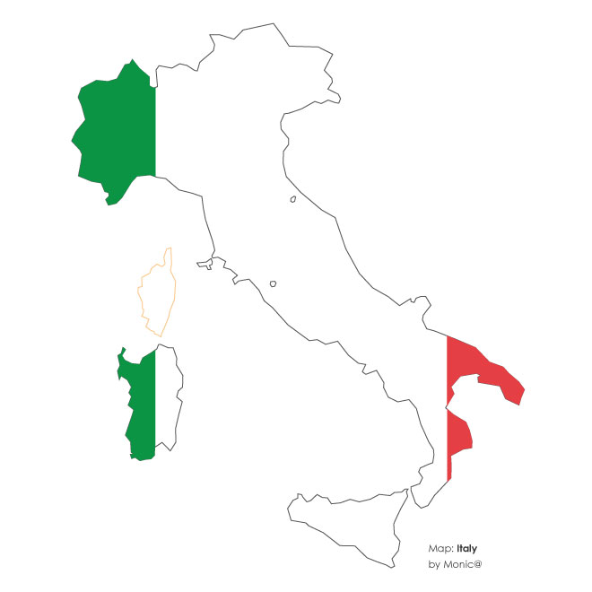 World map silhouette vector at getdrawings free for personal 660x660 vector map of italy gumiabroncs Choice Image