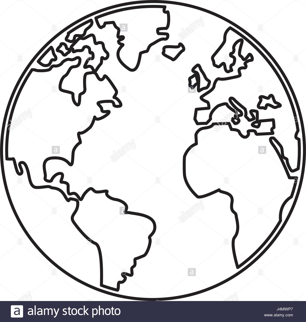 World map silhouette vector at getdrawings free for personal 1300x1366 world map earth globes cartography continents outline stock vector gumiabroncs Images