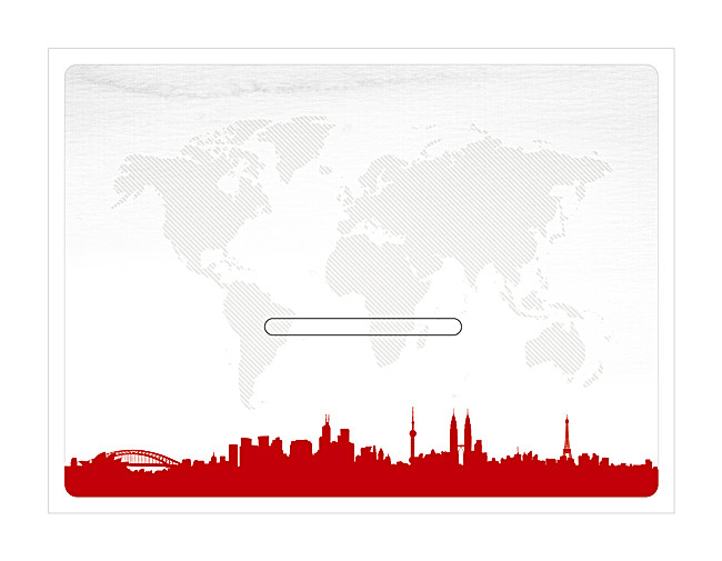 650x505 World Map Urban Silhouette Poster Background, World Map, City