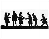 205x164 Silhouette Of British Soldiers Or Tommies In France 1916 During