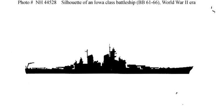 736x368 Gearing Class Fram 1 Destroyer Silhouette