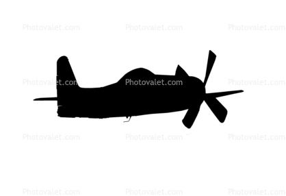 418x286 Grumman F8f Bearcat Silhouette, World War Ii, Ww2, Wwii, Logo