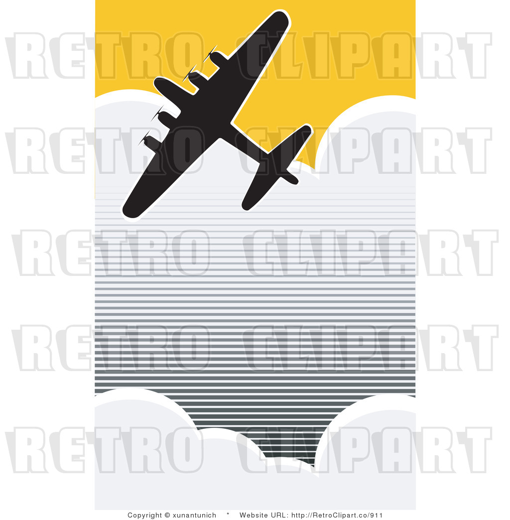 1024x1044 World War Ii Red Vintage Airplane Clipart Collection