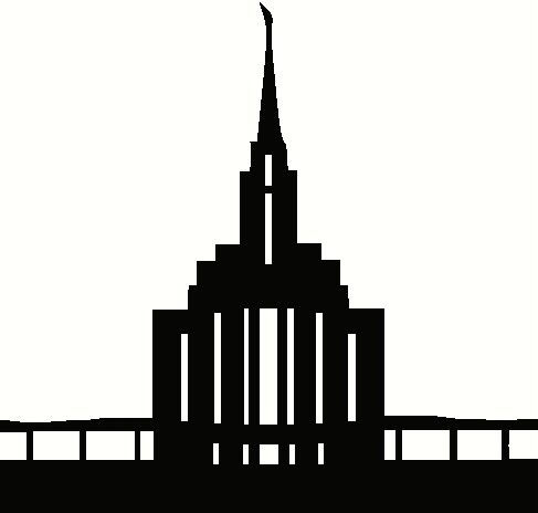 487x464 Temple Clipart Silhouette