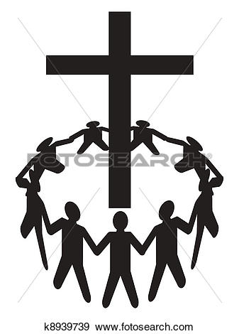 337x470 Free Clipart Of People Worshipping