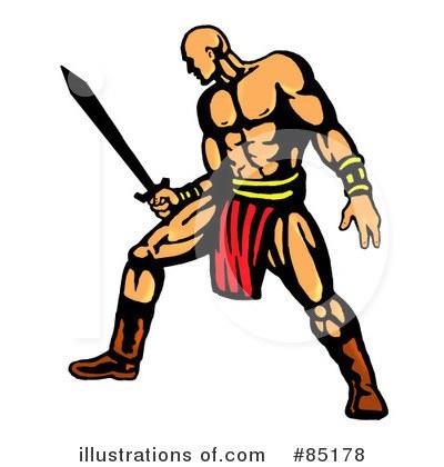 400x420 Mongol Warrior Clipart
