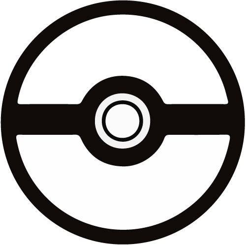 500x500 Pokemon Ball Stencil Is All Blank And Awkward Better Type Some