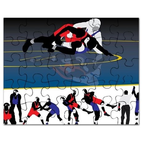 460x460 Wrestling Puzzles