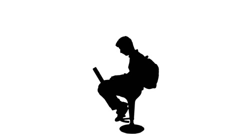480x268 Silhouette Of Student Writing On Laptop