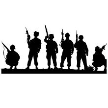 Ww1 Soldiers Silhouette