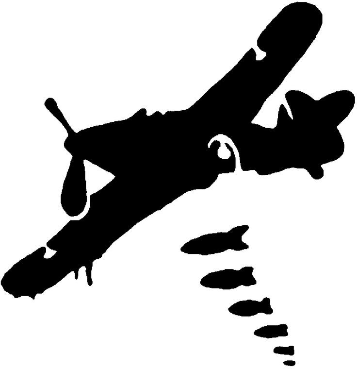Ww2 Plane Silhouette