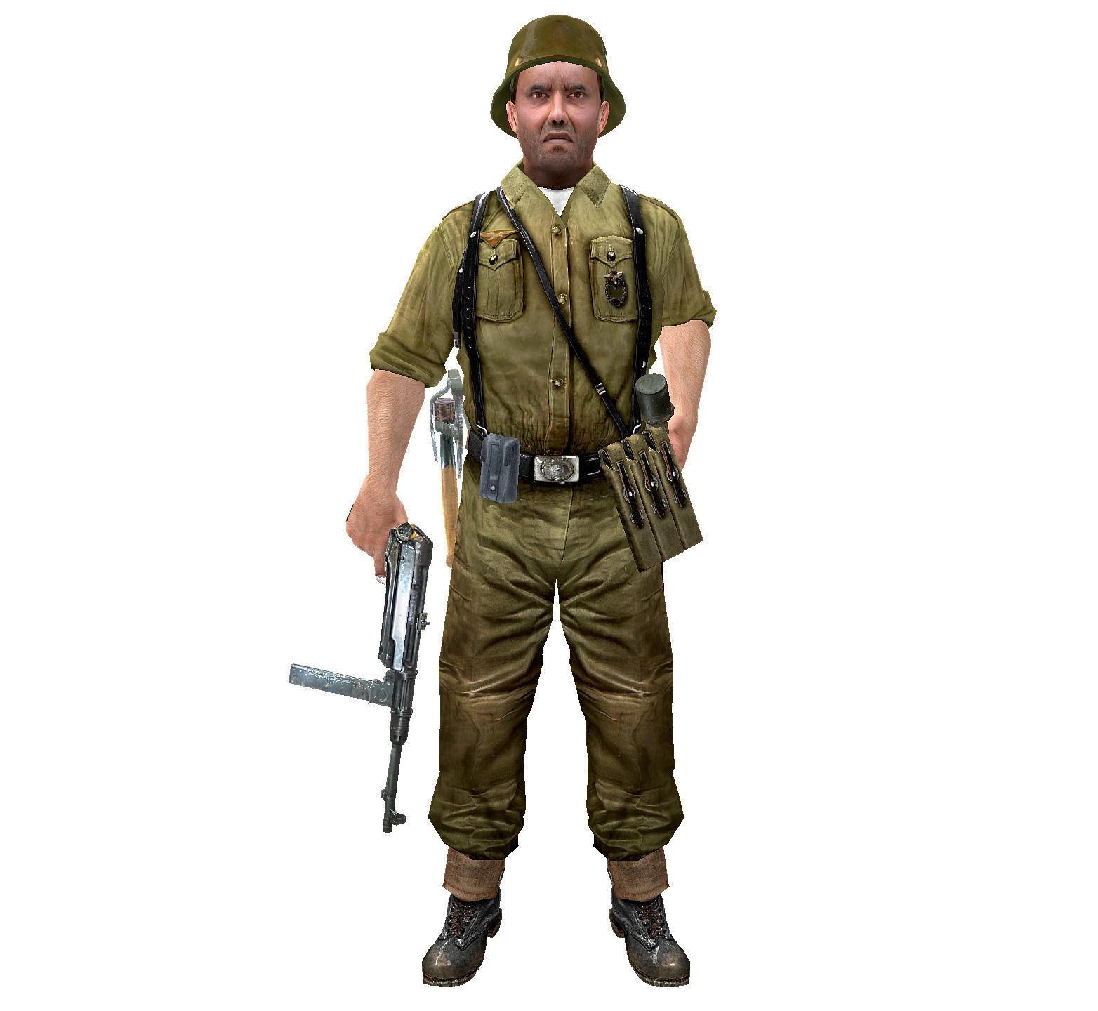 1564x1440 Wwii German Soldier 3d Asset Cgtrader