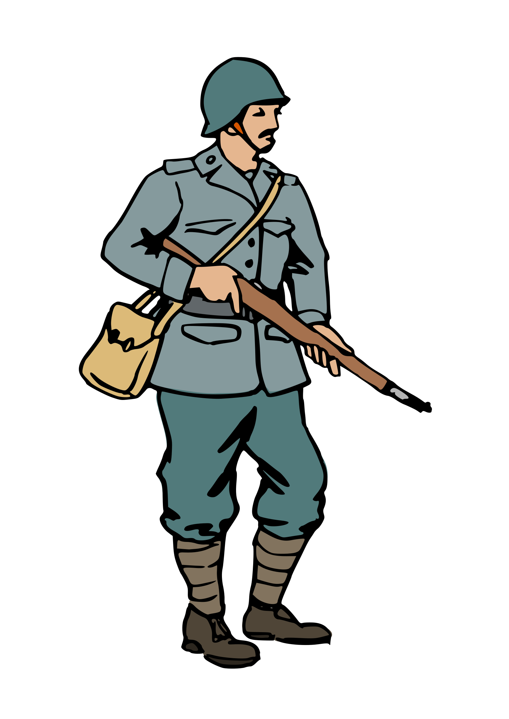 1697x2400 War Clipart Ww2 Soldier